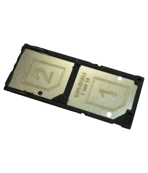 Tempat Kartu Sim Tray Sony Xperia C3 Dual Sim Ori fcs sim tray for sony xperia c3 dual black buy fcs sim tray for sony xperia c3 dual black