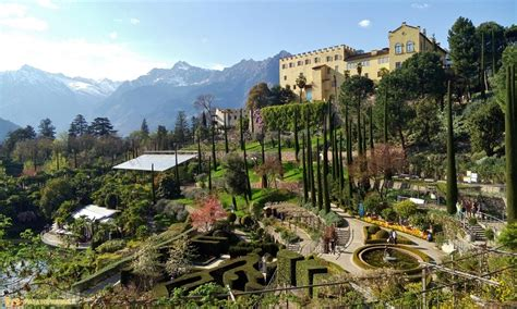 i giardini di trauttmansdorff a in south tyrol with merano patatofriendly