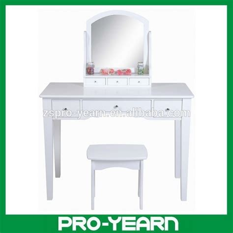 Coiffeuse Bois Moderne by En Bois Moderne Coiffeuse Maquillage Commode Avec Miroir