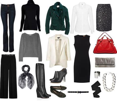 Professional Capsule Wardrobe by Wardrobe 50 Basics Newhairstylesformen2014
