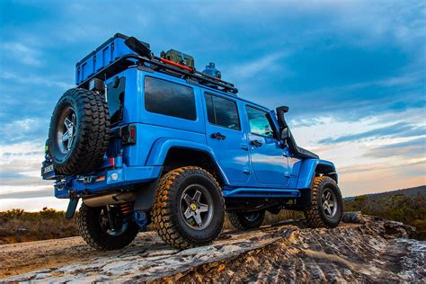Jeep Wrangler Cargo Space Add Cargo Capacity To Your Jeep Wrangler With This Modular