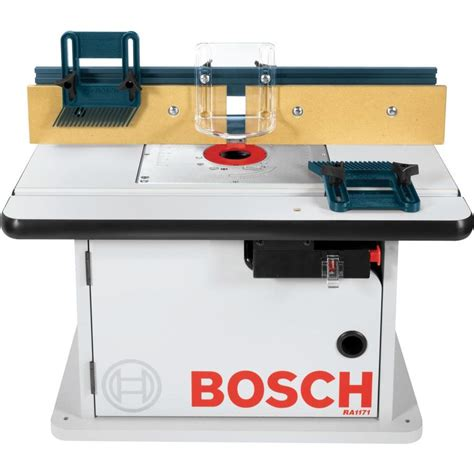 Router Table by Shop Bosch 15 7 8 In X 25 1 2 In Adjustable Router Table At Lowes