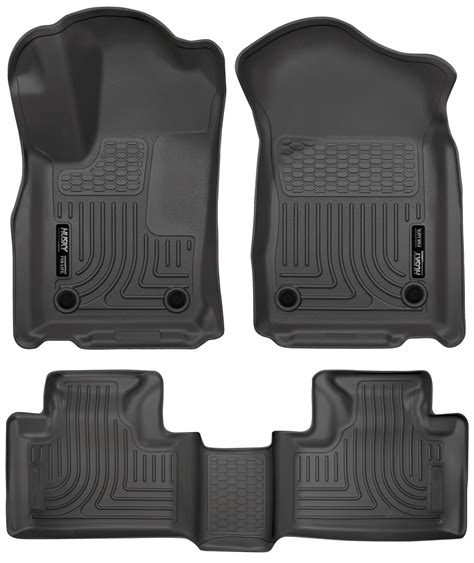 Husky Liner Mats by Husky Weatherbeater Floor Mats All Weather Liners Black