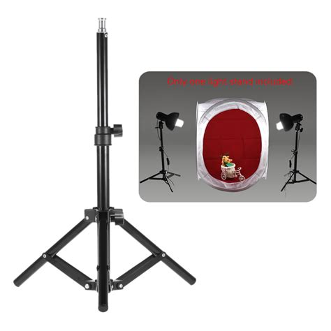 Xs Mini Tripod Support Desktop Windscreen Filter For Microphone andoer photography photo studio 50cm 20inch aluminum alloy mini light stand table top