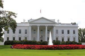 Images Of The White House by Secret Service Investigating Small Drone On White House