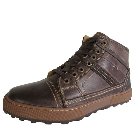 steve madden mens holsten high top fashion sneaker shoes