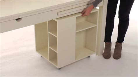 desk with storage optimize your working space with one or both of these