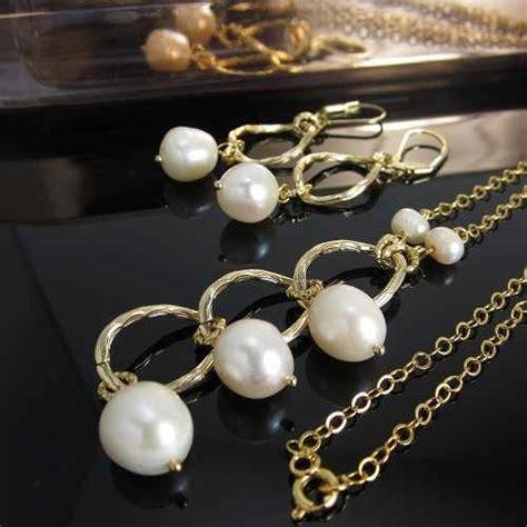 cadenas de oro finas para mujer collares mujer perlas cultivadas cadena de oro golfi ba 241 o