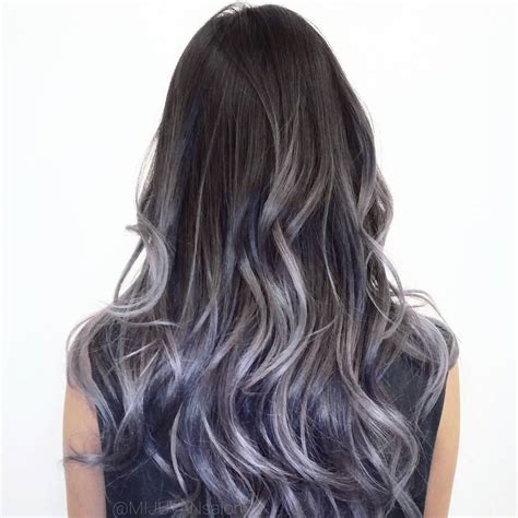 grey ombre grey ombre hair trends for fall 2016 best ombre hair ideas