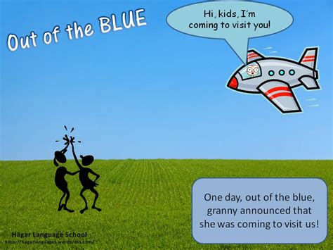 Out Of The by Idioms H 228 Gar Language School