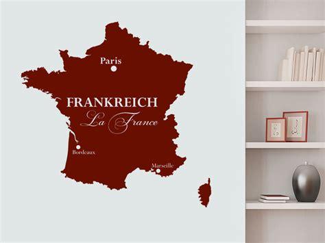 Wandtattoo Kinderzimmer Frankreich by Wandtattoo Frankreich Silhouette La Wandtattoo De