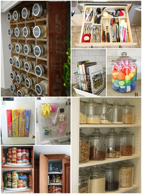 Kitchen Organizer Ideas Kitchen Organization Tips The Idea Room