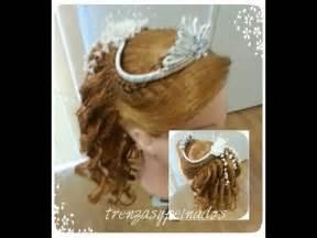 Peinados para primera comunion de ni 241 a girl s hairstyle for first