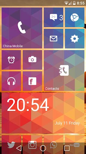layout android theme download launcher 8 free fake wp8 android apps apk