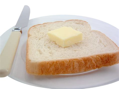 bread and butter stock image image of white nutrition