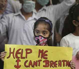 other indian cities join delhi in air pollution emergency