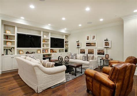 Basement Living Room Ideas Los Angeles Family Home With Transitional Interiors Home