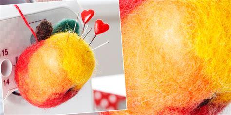 Wohnideen Geschenke by Ich Filze Mir Einen Apfel 228 Hhh Ein Nadelkissen