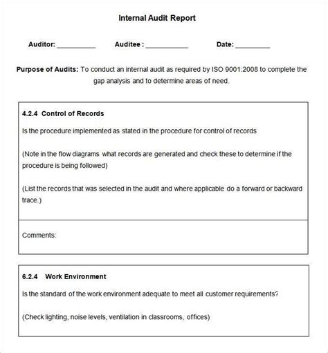 energy audit report template tm sheet