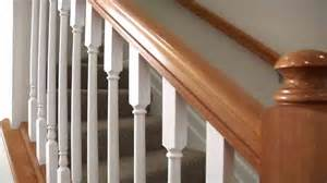 How To Install Railing On Stairs With Spindles by How To Amp Repairs How To Install Stair Railings And