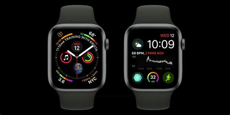 Apple Series 4 Faces by New Apple Series 4 Complications For Infograph Corner Gauges Curved Bezel Text