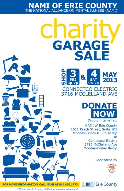 Garage Sale Information by Nami Partners With Connecting Nami Of Erie County