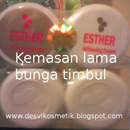 Ester Pemutih Wajah cara membedakan esther yang asli esthercreemutih