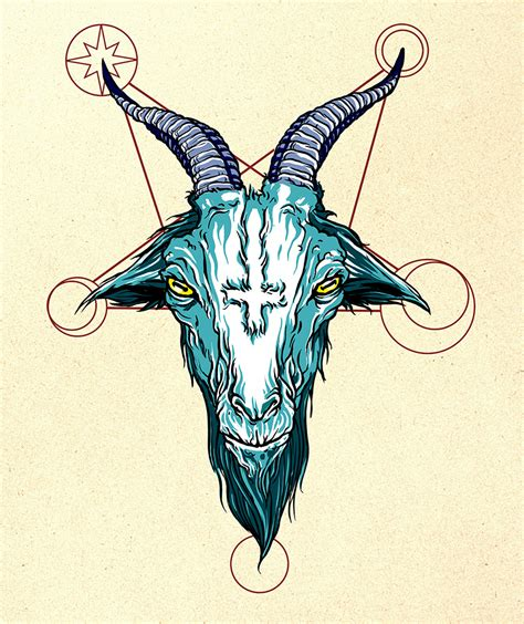 goat head tattoo tattoo collections