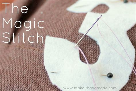 tutorial quilting technique the magic stitch by make it handmade nearly invisible for