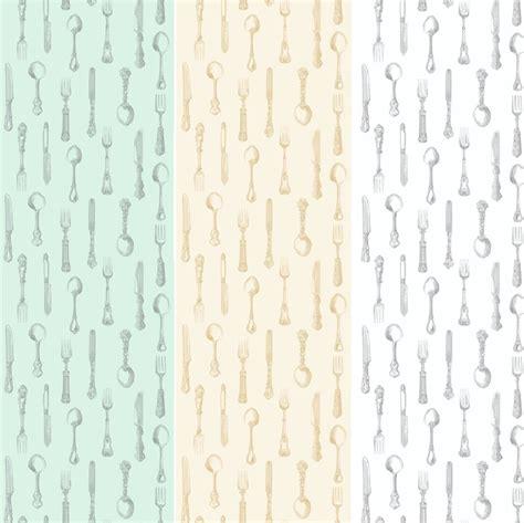 Wallpaper Salur 53cm X 10m 1 new luxury cutlery kitchen dining print 10m
