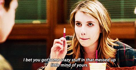 It S Messed Up Funny - a funny story emma roberts gif wifflegif