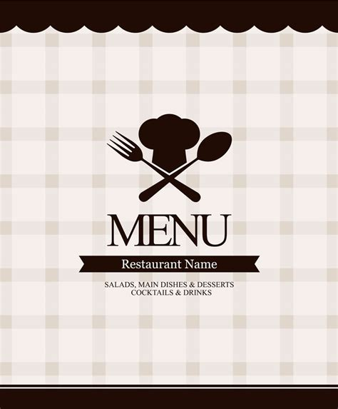 design menu cafe vector restaurant cafe menu vector sources