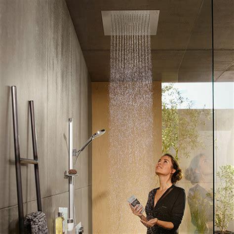 hansgrohe doccia la doccia hansgrohe con i soffioni e doccette laterali
