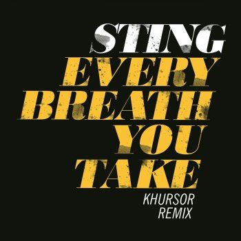 testo i ll be missing you testi every breath you take khursor remix sting testi