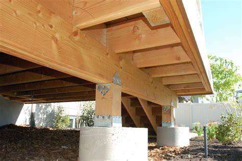 porch decking joist overhang question building