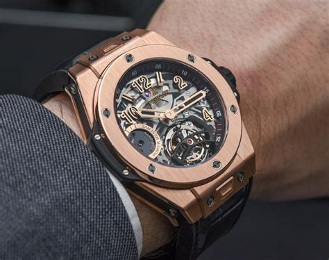 Jam Tangan Michael Kors Newyork Fullgold hublot big tourbillon 5 day power reserve indicator on ablogtowatch