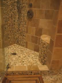 island stone pebble bathroom design rustic wall and floor tile other metro by island stone