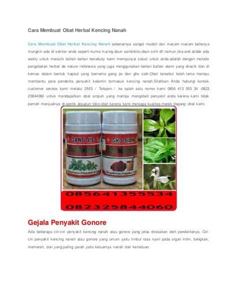cara membuat obat bius termudah cara membuat obat herbal kencing nanah