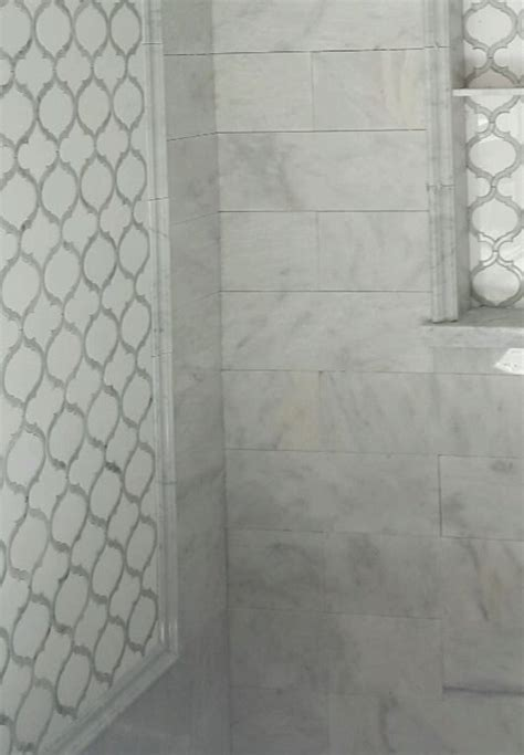 luxury bathroom tiles ideas white thassos carrara marble arabesque marrakesh