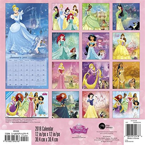 2018 disney princess wall calendar day 2018 disney princess wall calendar day 187 coimat