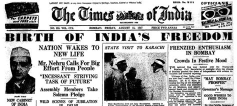 50 Years Of Indian Independence Essay by How Indian Newspapers Reported Independence And Partition In 1947
