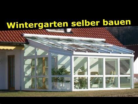 veranda geländer selber bauen wintergarten selber bauen als bausatz montage einer