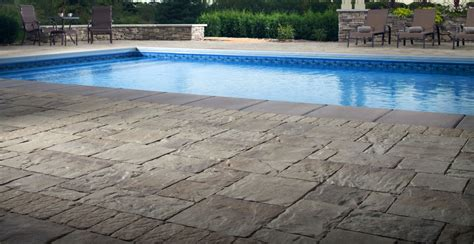 paver pool deck pool deck pavers turn any pool into an enticing