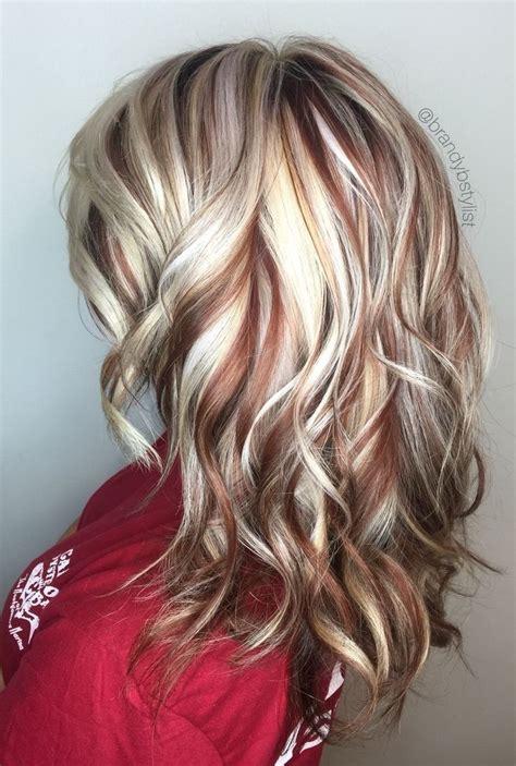 best summer highlights for auburn hair best 25 blonde hair with highlights ideas on pinterest