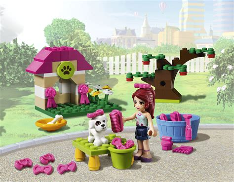 lego friends dog house time to parade your pooch
