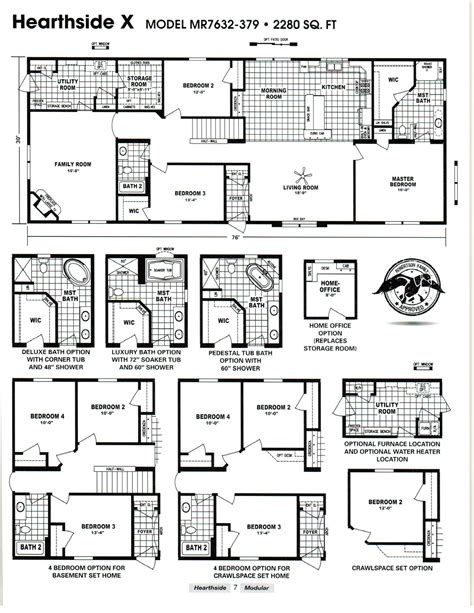 schult manufactured homes floor plans schult hearthside x excelsior homes west inc