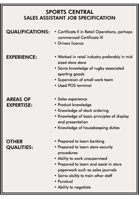 Qualifications For Job Resume by Identifying Hr Needs