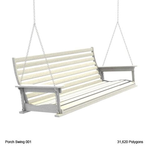 swing modelle 3d model country porch swing