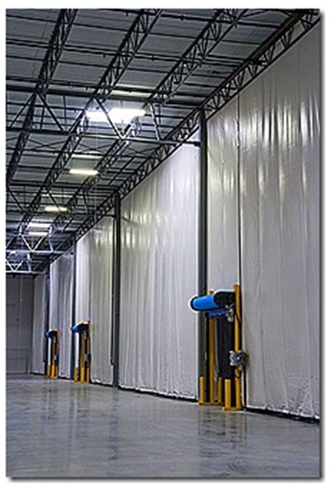 loading dock curtains loading dock curtains akon curtain and dividers