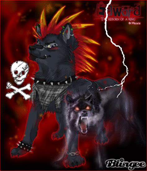 cool punk wolf picture 126490708 blingee com
